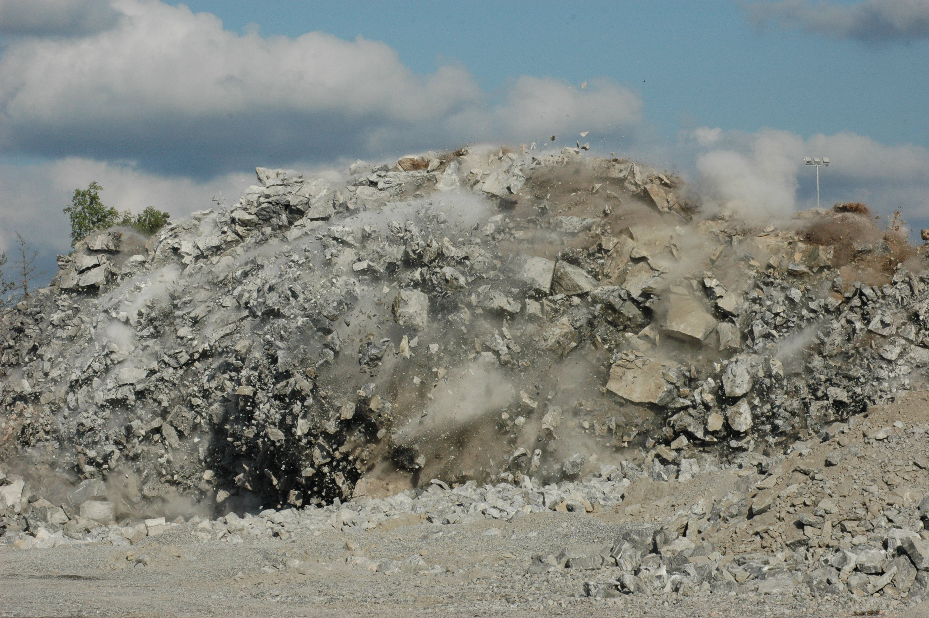 Rock blasting, Roxar drifter application