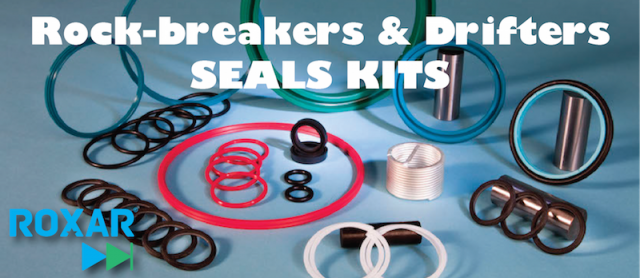 Roxar seal kit for Doofor 530 drifter