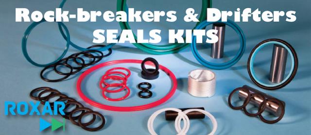 Roxar seal kit for Montabert HC150 – HC150RP