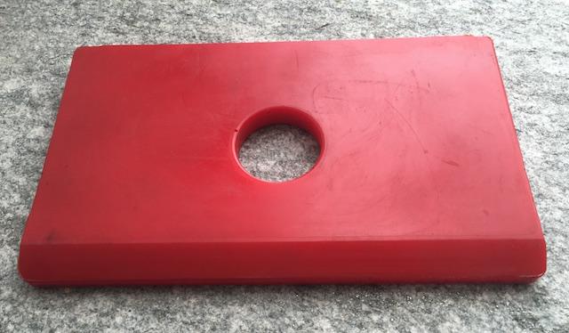Roxar Guiding Slippers & pads for MONTABERT XL1700, DOOSAN DXB170