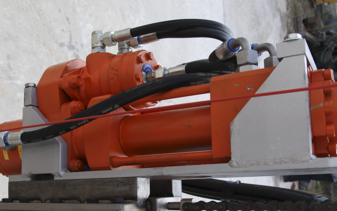 Roxar FD9 hydraulic drifter Underground mining drilling